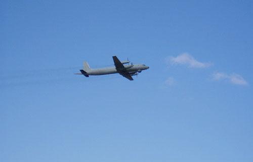 Военные самолеты Ил-38 прервали учения США и Японии