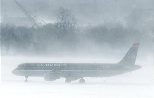 Снежная буря нанесла удар по северо-востоку США