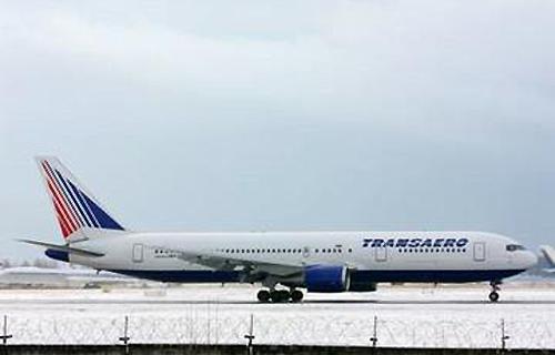 Boeing 767 компании Трансаэро совершил вынужденную посадку в Ростове