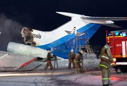 Причиной возгорания Ту-154 в Сургуте были не двигатели