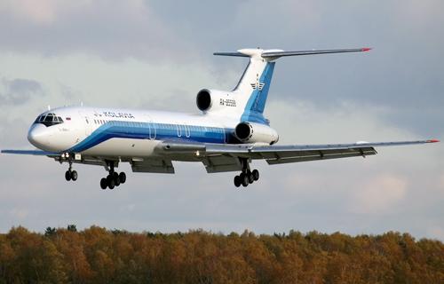 В аэропорту Сургута взорвался Ту-154М