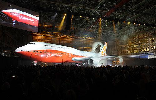Boeing представил новый 747-8 Intercontinental