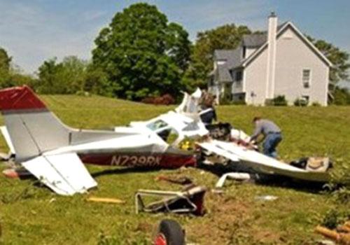 В Сиднее упал одномоторный частный самолет