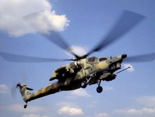 В Ставрополье потерпел крушение вертолет Ми-28