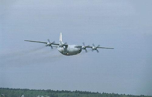 В Конго грузовой Ан-12 упал на жилые дома