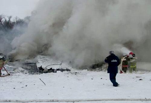 Ан-148 потерпел крушение во время испытательного полета