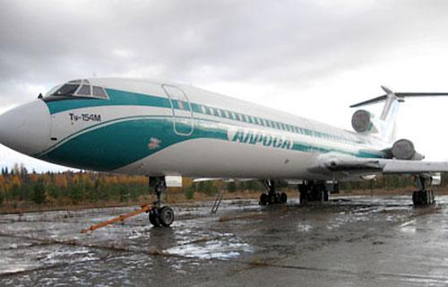 Вылет аварийно-севшего в Ижме Ту-154 отложен