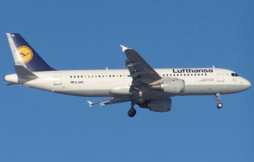 Airbus A320 компании Lufthansa вынужденно сел во Франкфурте