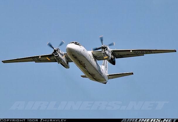 Фото самолета Ан-24 компании Ангара