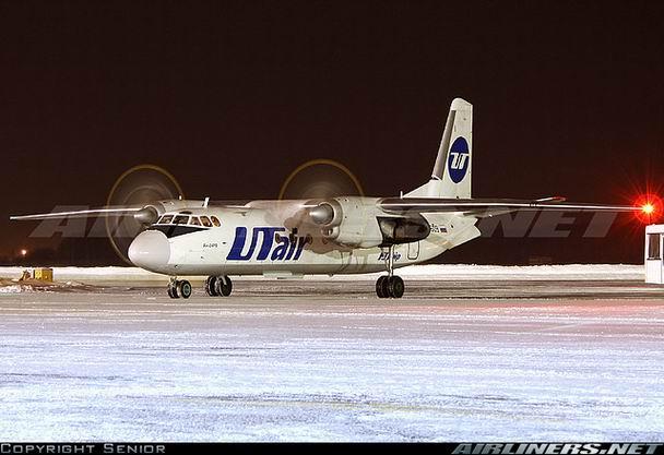 Ан-24 UTair - фото самолета