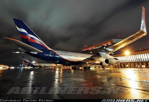 Фото самолета Ил-96