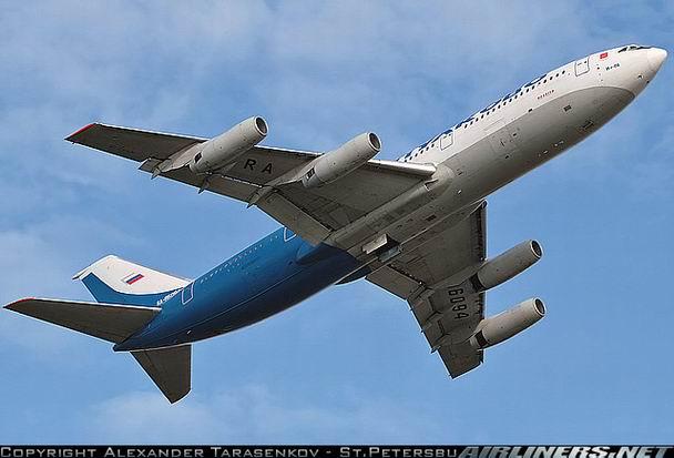 Ил-86 компании Пулково - фото