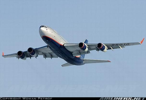 Ил-96-300 компании Аэрофлот