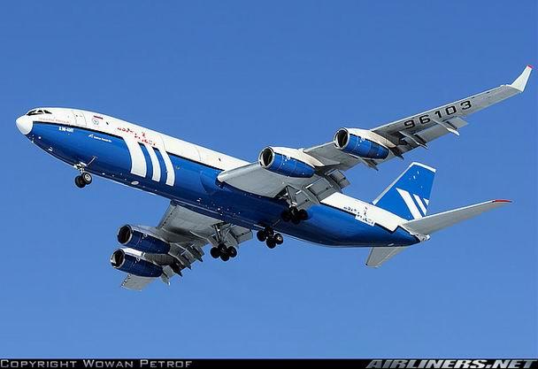 Грузовой Ил-96 400Т компании Полет