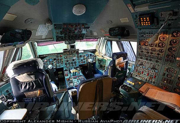 Кабина Ил-86 - фото