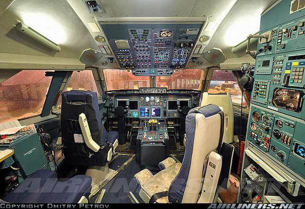 Кабина Ил-96 300 фото