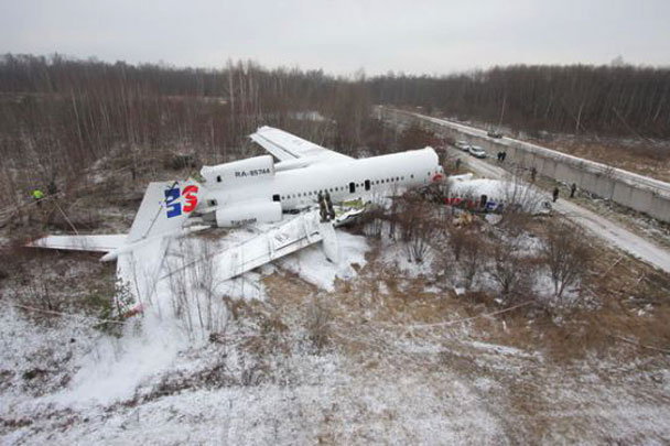 Авиакатастрофы Ту-154