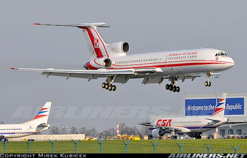 Польша дала разрешение президенту летать на Ту-154