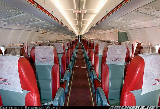 Салон Ту-204 - фото