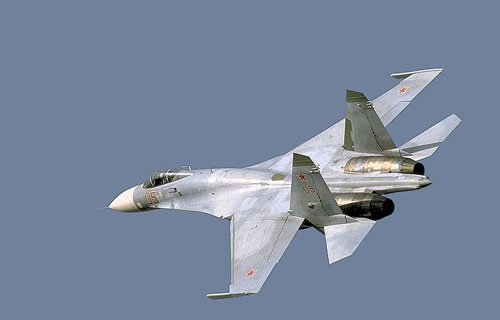 В Приморье потерпел крушение истребитель Су-27