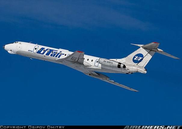Фото самолета Ту-134 компании UTair