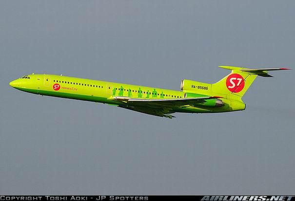 Фото Ту-154 компании S7 (Сибирь)
