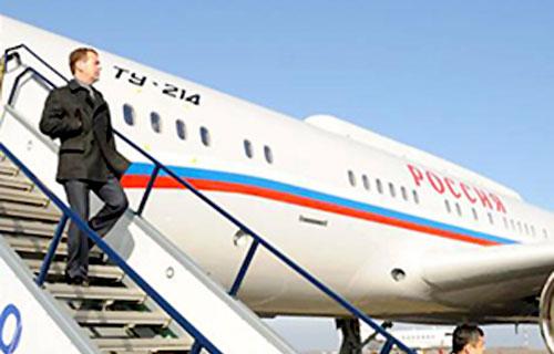 Президентский Ту-214ПУ оказался неисправен