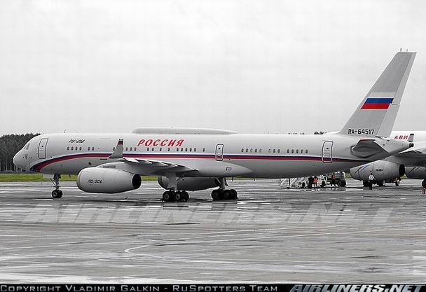 Фото Ту-214 авиакомпании Россия