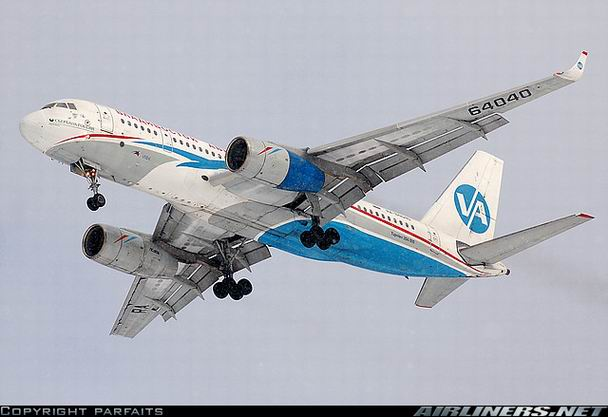 Фото самолета Ту-204 компании Владивосток-Авиа