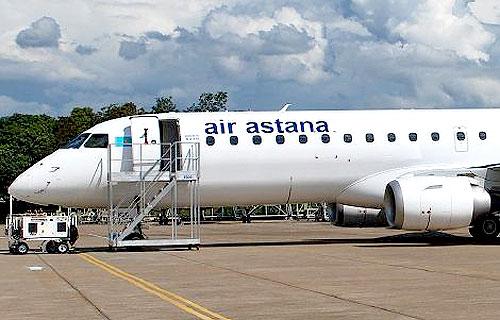 Air Astana планирует купить шесть самолетов Embraer 190