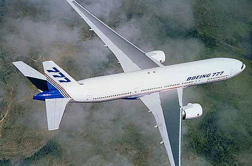 Boeing увеличил темп производства самолетов 777 до семи в месяц