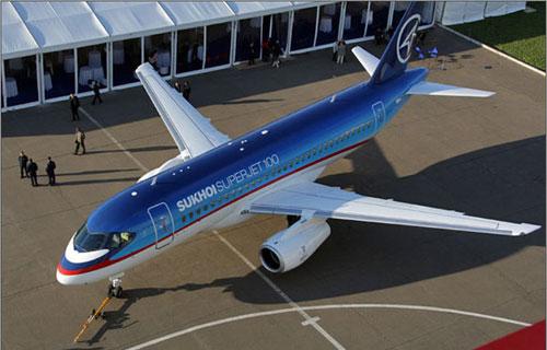 Аэрофлот приступит к эксплуатации первого SSJ100 16 июня