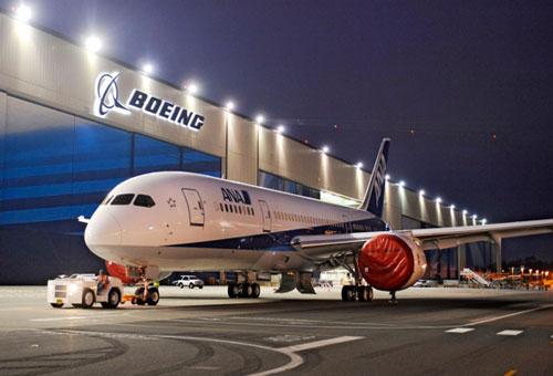 В июле Boeing начнет испытания 787 Dreamliner в Японии