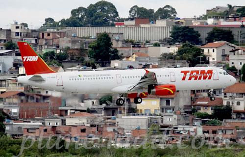 Airbus A321 авиакомпании TAM