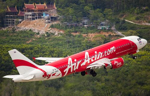 Airbus A320 компании Air Asia