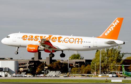 Airbus A320 компании easyJet