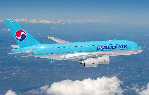 Korean Air получила свой первый Airbus A380