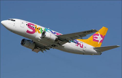 Боинг 737 авиакомпании Sky Express
