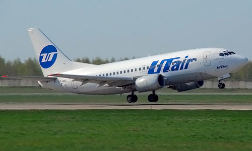 В Томске аварийно сел Boeing 737 компании Utair