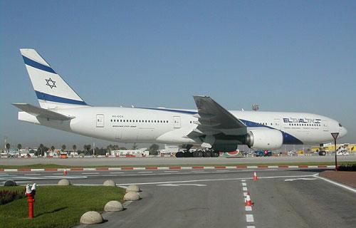 Boeing 777 израильской компании EL AL