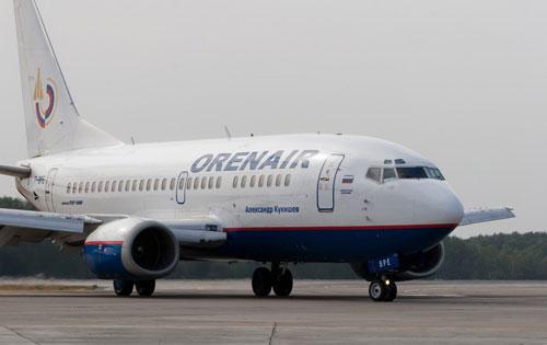 Boeing 737 авиакомпании OrenAir