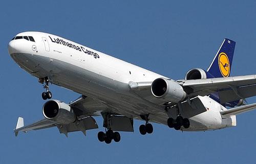Грузовой MD-11F авиакомпании Lufthansa Cargo
