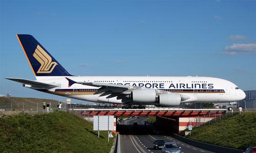 Airbus A380 компании Singapore Airlines