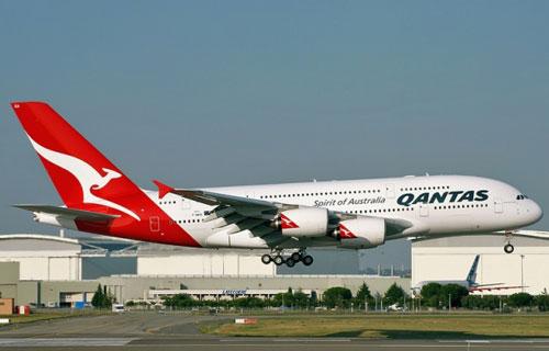 Аэробус A380 компании Qantas