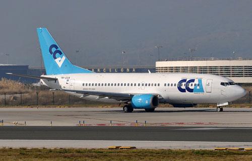 Парк Czech Connect Airlines пополнился новым Boeing 737-400