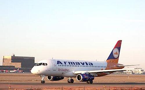 Sukhoi Superjet-100 компании Армавиа