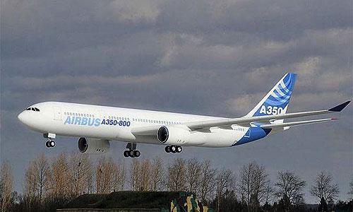 Выпуск новых модификаций Airbus A350 отложен на два года