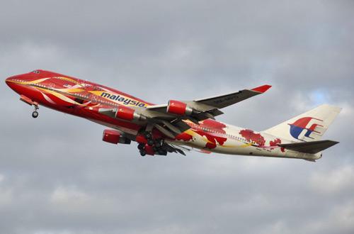 Boeing 747 компании Malaysia Airlines