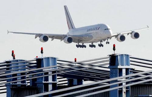 A380 компании Air France совершил первый полет в Вашингтон