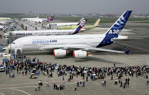 Airbus A380 повредивший крыло все же примет участие в Ле Бурже